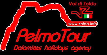 logo in rosso di pelmotour